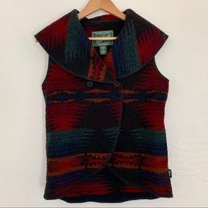 Woolrich wool Southwestern vest